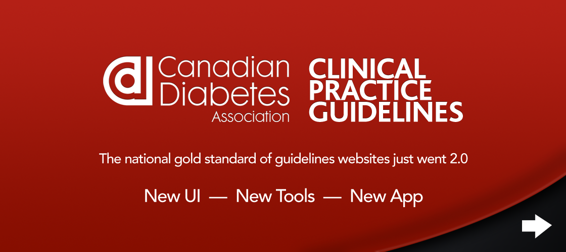 Canadian Diabetes Association, Clinical Practice Guidelines